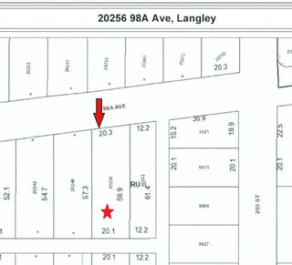 Photo 1: 20256 98A Avenue in Langley: Walnut Grove Land for sale