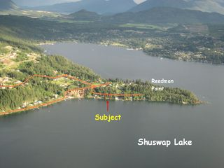 Photo 2: 2477 Rocky Point Road in Blind Bay: Waterfront House for sale (Shuswap)  : MLS®# 10064890