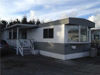 "Photo 1: 269 201 CAYER Street in Coquitlam: Maillardville Manufactured Home for sale in ""WILDWOOD PARK"" : MLS®# V1048740"
