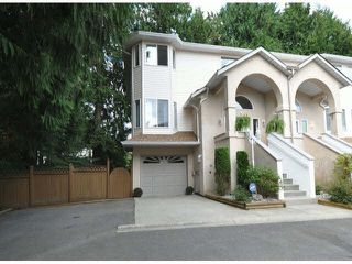 """Photo 1: 33 32339 7 Avenue in Mission: Mission BC Townhouse for sale in """"Cedarbrook Estates"""" : MLS®# F1408880"""