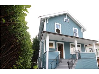 Photo 1: 2528 ADANAC Street in Vancouver: Renfrew VE House for sale (Vancouver East)  : MLS®# V1114611