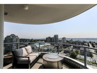 "Photo 1: 2203 739 PRINCESS Street in New Westminster: Uptown NW Condo for sale in ""BERKLEY PLACE"" : MLS®# V1125945"