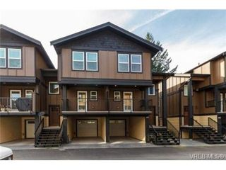 Photo 1: 104 990 Rattanwood Place in VICTORIA: La Happy Valley Townhouse for sale (Langford)  : MLS®# 355761