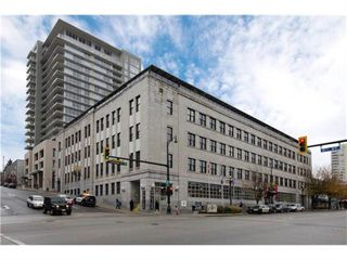 "Photo 1: 510 549 COLUMBIA Street in New Westminster: Downtown NW Condo for sale in ""C2C LOFTS & FLATS"" : MLS®# R2031496"