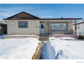 Main Photo: 1207 Valour Road in WINNIPEG: West End / Wolseley Residential for sale (West Winnipeg)  : MLS®# 1604179