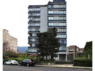 Photo 1: 703 2167 BELLEVUE Ave in West Vancouver: Dundarave Home for sale ()  : MLS®# V1073557