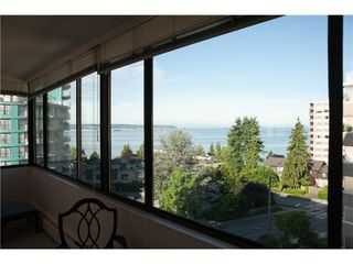 Photo 4: 703 2167 BELLEVUE Ave in West Vancouver: Dundarave Home for sale ()  : MLS®# V1073557