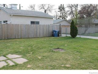 Photo 14: 842 Parkhill Street in Winnipeg: Westwood / Crestview Residential for sale (West Winnipeg)  : MLS®# 1611596