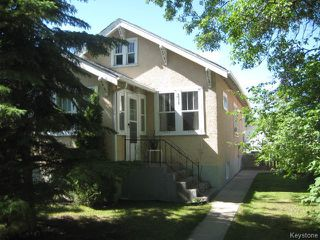 Photo 1: 531 Doucet Street in Winnipeg: St Boniface Residential for sale (2A)  : MLS®# 1715422