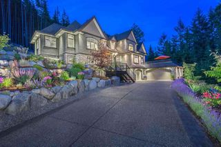 Photo 1: 1403 CRYSTAL CREEK DRIVE: Anmore House for sale (Port Moody)  : MLS®# R2213436