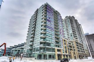 Main Photo: 704 128 2 Street SW in Calgary: Eau Claire Condo for sale : MLS®# C4170711