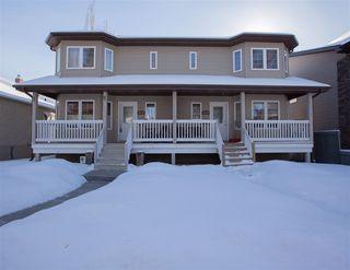 Photo 1: 10707 71 Avenue in Edmonton: Zone 15 House Half Duplex for sale : MLS®# E4145453