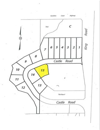 "Main Photo: LOT 15 CASTLE Road in Gibsons: Gibsons & Area Land for sale in ""KING & CASTLE"" (Sunshine Coast)  : MLS®# R2422470"