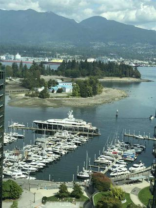"""Main Photo: 2703 1331 W GEORGIA Street in Vancouver: Coal Harbour Condo for sale in """"THE POINTS"""" (Vancouver West)  : MLS®# R2492786"""