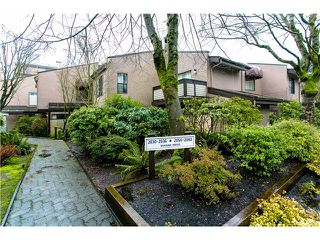 Main Photo: 2054 MARINE DR in West Vancouver: Ambleside Townhouse for sale : MLS®# V1012823