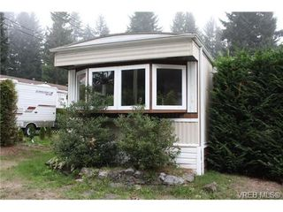 Photo 1: 1 3640 Trans Canada Hwy in COBBLE HILL: ML Cobble Hill Manufactured Home for sale (Malahat & Area)  : MLS®# 689203