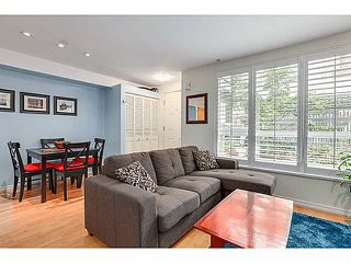 "Photo 3: 15 1073 LYNN VALLEY Road in North Vancouver: Lynn Valley Townhouse for sale in ""RIVER ROCK"" : MLS®# V1108053"