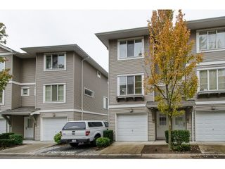 "Photo 1: 21 15155 62A Avenue in Surrey: Sullivan Station Townhouse for sale in ""Oaklands"" : MLS®# R2007650"