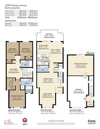 "Photo 20: 22317 SHARPE Avenue in Richmond: Hamilton RI House 1/2 Duplex for sale in ""ROSEDALE GARDEN"" : MLS®# R2106316"