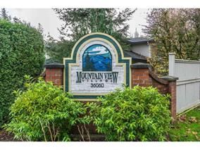 "Photo 1: 51 36060 OLD YALE Road in Abbotsford: Abbotsford East Townhouse for sale in ""MOUNTAIN VIEW VILLAGE"" : MLS®# R2156843"