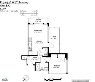 Photo 3: PH3 538 W 7TH AVENUE in Vancouver: Fairview VW Condo for sale (Vancouver West)  : MLS®# R2176643