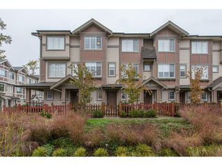 "Photo 1: 104 10151 240 Street in Maple Ridge: Albion Townhouse for sale in ""ALBION STATION"" : MLS®# R2215867"