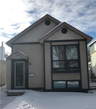 Main Photo: 544 Tremblay Street in Winnipeg: Norwood Residential for sale (2B)  : MLS®# 1805975