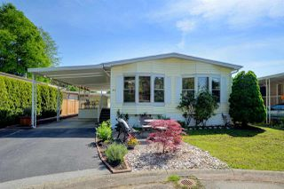 """Photo 1: 44 145 KING EDWARD Street in Coquitlam: Maillardville Manufactured Home for sale in """"MILL CREEK VILLAGE"""" : MLS®# R2300714"""