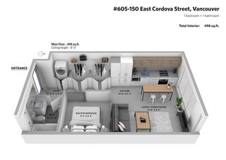 """Photo 20: 605 150 E CORDOVA Street in Vancouver: Downtown VE Condo for sale in """"InGastown"""" (Vancouver East)  : MLS®# R2361641"""