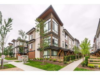 "Photo 1: 209 16488 64 Avenue in Surrey: Cloverdale BC Townhouse for sale in ""Harvest"" (Cloverdale)  : MLS®# R2376091"