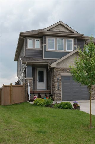 Photo 1: 3434 WEIDLE Way in Edmonton: Zone 53 House Half Duplex for sale : MLS®# E4165069