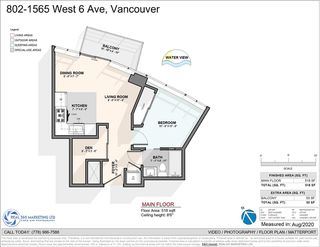 "Photo 28: 802 1565 W 6TH Avenue in Vancouver: False Creek Condo for sale in ""6TH and FIR"" (Vancouver West)  : MLS®# R2493032"