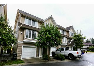 "Photo 1: 44 19141 124TH Avenue in Pitt Meadows: Mid Meadows Townhouse for sale in ""MEADOWVIEW ESTATES"" : MLS®# V1029960"
