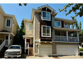 "Photo 1: 35 15030 58 Avenue in Surrey: Sullivan Station Townhouse for sale in ""Summerleaf"" : MLS®# F1445985"