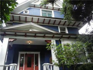 Main Photo: 315 12TH Ave W in Vancouver West: Mount Pleasant VW Home for sale ()  : MLS®# V916434