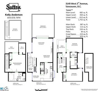 Photo 17: 3149 W 3RD Avenue in Vancouver: Kitsilano 1/2 Duplex for sale (Vancouver West)  : MLS®# R2072201