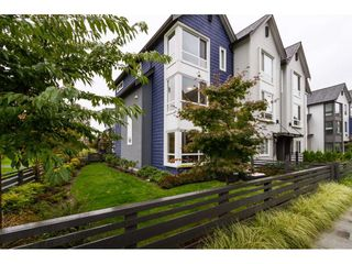 "Photo 1: 11 2310 RANGER Lane in Port Coquitlam: Riverwood Townhouse for sale in ""FREMONT BLUE"" : MLS®# R2116252"