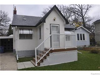 Photo 1: 137 Egerton Road in Winnipeg: Residential for sale (2D)  : MLS®# 1627570