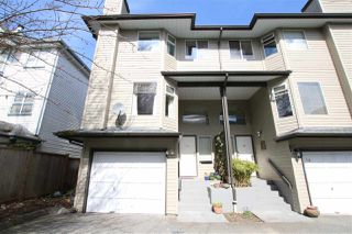 Photo 1: 15 8751 BENNETT ROAD in Richmond: Brighouse South Townhouse for sale : MLS®# R2152089