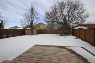 Photo 19: 134 Charing Cross Crescent in Winnipeg: River Park South Residential for sale (2F)  : MLS®# 1806746
