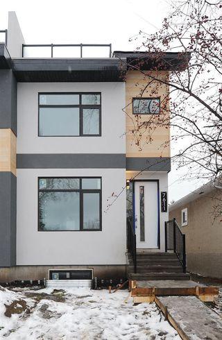 Photo 2: 7611 110 Street in Edmonton: Zone 15 House Half Duplex for sale : MLS®# E4144039