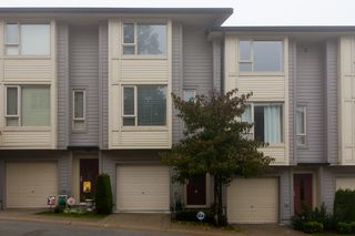 """Photo 2: 10 9229 UNIVERSITY Crescent in Burnaby: Simon Fraser Univer. Townhouse for sale in """"SERENITY"""" (Burnaby North)  : MLS®# V918055"""