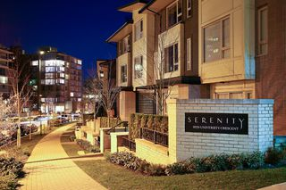 """Photo 17: 10 9229 UNIVERSITY Crescent in Burnaby: Simon Fraser Univer. Townhouse for sale in """"SERENITY"""" (Burnaby North)  : MLS®# V918055"""