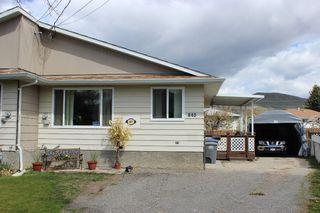 Main Photo: 845 Shelan Place in Kamloops: Brocklehurst 1/2 Duplex for sale : MLS®# 115388