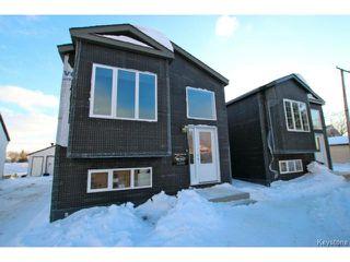 Photo 1: 1036 Blair Street in WINNIPEG: St Boniface Residential for sale (South East Winnipeg)  : MLS®# 1402144