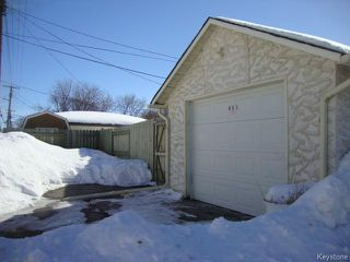 Photo 20: 451 MELBOURNE Avenue in WINNIPEG: East Kildonan Residential for sale (North East Winnipeg)  : MLS®# 1403957