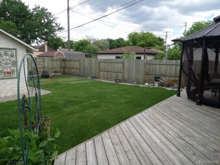 Photo 19: 451 MELBOURNE Avenue in WINNIPEG: East Kildonan Residential for sale (North East Winnipeg)  : MLS®# 1403957