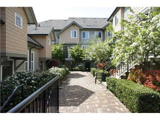 """Photo 1: 208 4238 ALBERT Street in Burnaby: Vancouver Heights Townhouse for sale in """"VILLAGIO"""" (Burnaby North)  : MLS®# V1068687"""