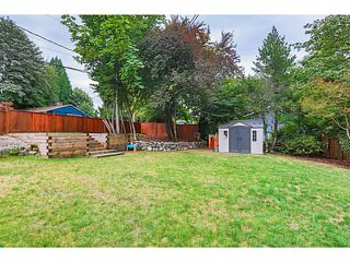 Photo 20: 1552 MARINE Crescent in Coquitlam: Harbour Place House for sale : MLS®# V1139955