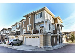 "Photo 1: 14 19433 68 Avenue in Surrey: Clayton Townhouse for sale in ""The Grove"" (Cloverdale)  : MLS®# R2046626"
